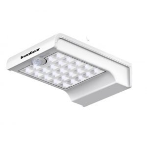 Lampara led solar de 24 led con sensor movimiento