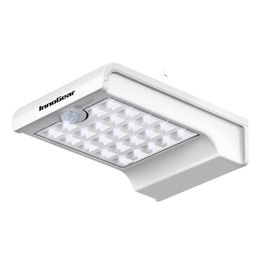 Lampara led solar de 24 led con sensor movimiento 150 for Lampara solar led