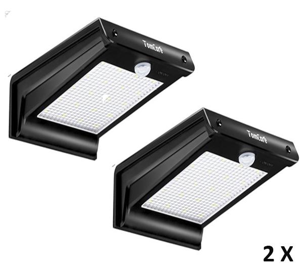 Lampara 20 Led Solar con sensor