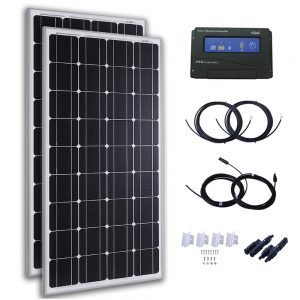 Kit Panel Solar 200W 12V